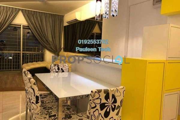 For Rent Condominium at Anggun Puri, Dutamas Freehold Fully Furnished 3R/2B 2k