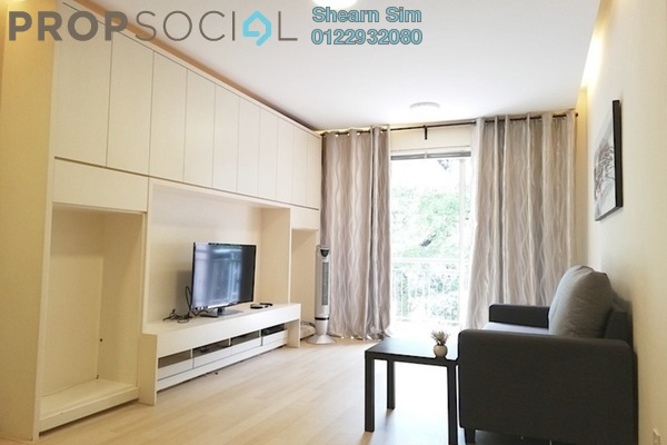 For Rent Condominium at Casa Indah 1, Tropicana Freehold Fully Furnished 2R/2B 3k