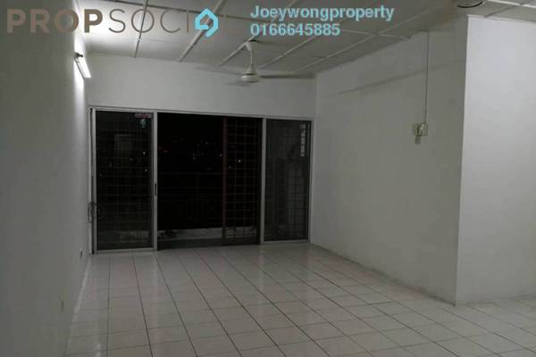 For Sale Apartment at Jasmine Court, Bandar Puchong Jaya Freehold Semi Furnished 3R/2B 350k