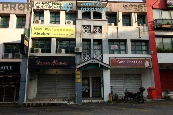 For Rent Shop at SD7, Bandar Sri Damansara Freehold Unfurnished 0R/0B 1.2k