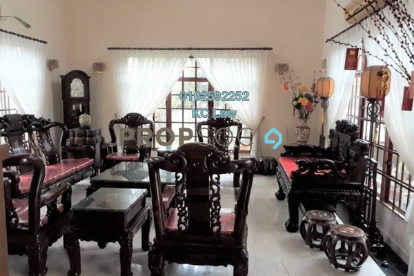 For Sale Bungalow at Bukit Tiara, Cheras Freehold Fully Furnished 7R/7B 4.2m