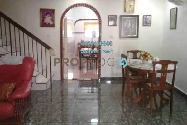 For Sale Terrace at Taman Bayu Perdana, Klang Freehold Semi Furnished 4R/3B 600k