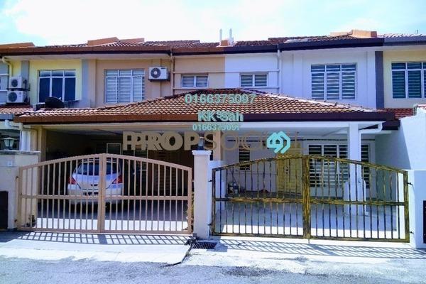 For Sale Terrace at Section 1, Bandar Mahkota Cheras Freehold Semi Furnished 4R/3B 528k