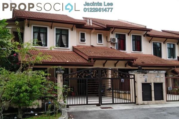 For Sale Terrace at Ampang Saujana, Ampang Leasehold Semi Furnished 4R/3B 729k