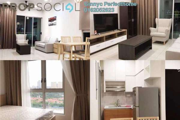 For Rent Serviced Residence at Sunway GEO Residences, Bandar Sunway Freehold Fully Furnished 3R/2B 1.5k