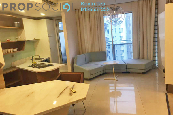 For Sale Condominium at VERVE Suites, Mont Kiara Freehold Fully Furnished 1R/1B 750k