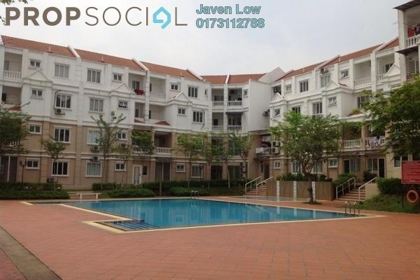 For Sale Townhouse at Sommerset Close, Bandar Sri Permaisuri Freehold Semi Furnished 4R/4B 660k