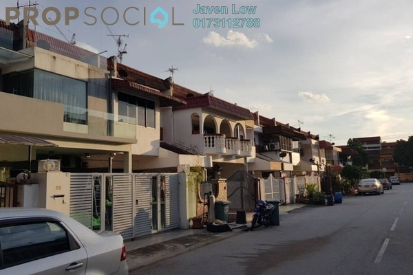 For Sale Terrace at Taman Wahyu, Jalan Ipoh Freehold Semi Furnished 4R/3B 650k