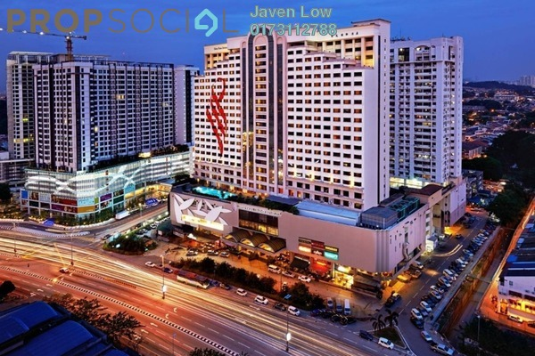 For Sale Condominium at Pearl Point Condominium, Old Klang Road Freehold Semi Furnished 3R/2B 380k