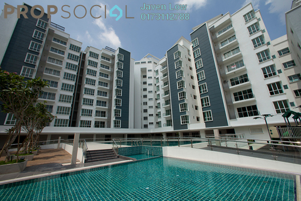 For Sale Condominium at 8 Petaling, Sri Petaling Freehold Fully Furnished 4R/4B 820k