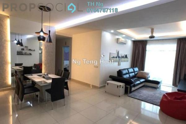 For Rent Condominium at Reflections, Sungai Ara Freehold Fully Furnished 3R/2B 1.7k