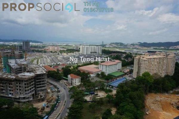 For Rent Condominium at Meridien Residence, Sungai Ara Freehold Semi Furnished 4R/2B 1.26k