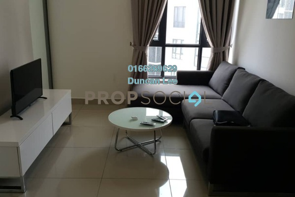 For Rent Condominium at Eclipse Residence @ Pan'gaea, Cyberjaya Freehold Fully Furnished 1R/1B 1.3k