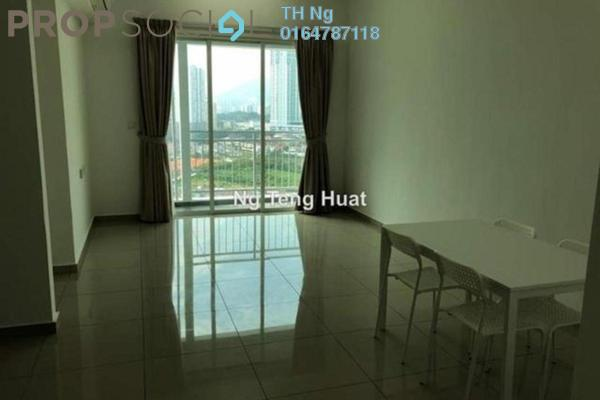 For Rent Serviced Residence at Solaria Residences, Sungai Ara Freehold Semi Furnished 3R/2B 1.1k