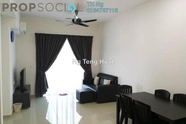 For Rent Serviced Residence at Solaria Residences, Sungai Ara Freehold Fully Furnished 3R/2B 1.7k