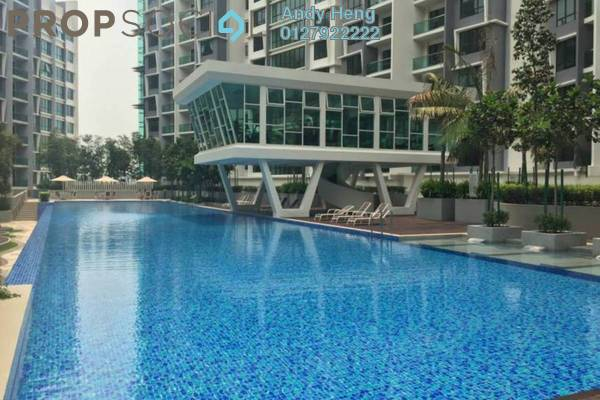 For Rent Condominium at Impiana Residences, Iskandar Puteri (Nusajaya) Freehold Semi Furnished 1R/1B 1.3k