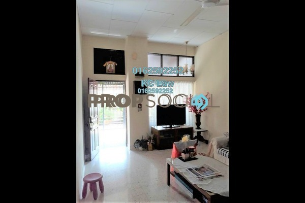 For Sale Terrace at Taman Bukit Maluri, Kepong Leasehold Semi Furnished 5R/2B 680k