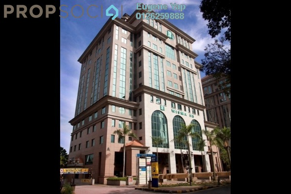 For Rent Office at Wisma HB, KLCC Freehold Semi Furnished 2R/2B 43k