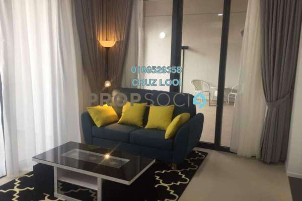 For Rent SoHo/Studio at Arcoris, Mont Kiara Freehold Fully Furnished 1R/1B 3.65k