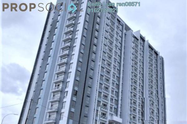 For Rent Condominium at Green Park, Seri Kembangan Freehold Semi Furnished 3R/2B 1.35k