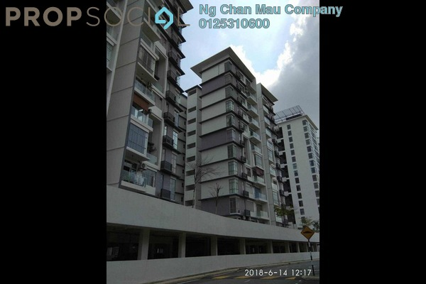 For Sale Apartment at Lakeview Residency, Cyberjaya Freehold Semi Furnished 0R/0B 355k