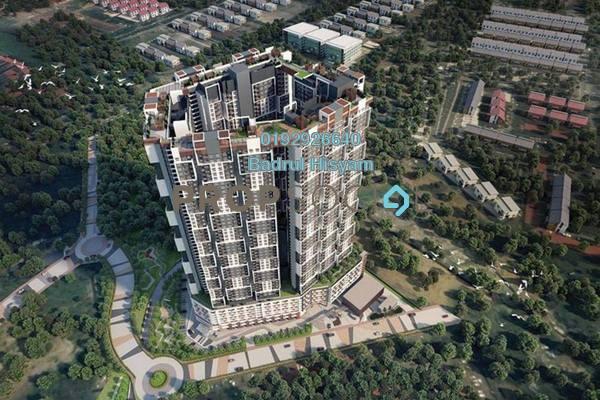 For Sale Condominium at SkyAwani 3 Residence, Setapak Freehold Unfurnished 3R/2B 300k