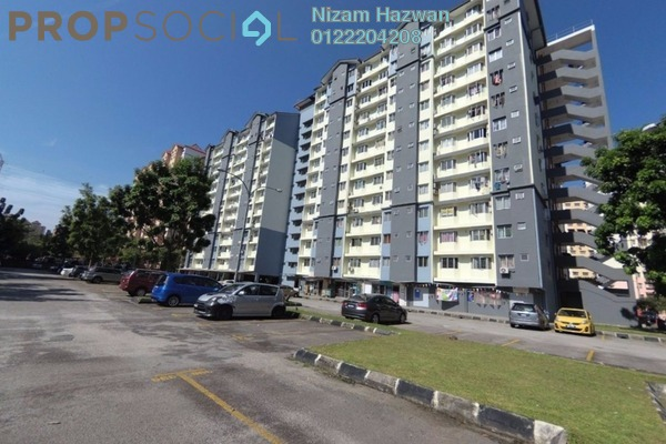 For Sale Apartment at Lestari Apartment, Bandar Sri Permaisuri Freehold Unfurnished 3R/2B 310k