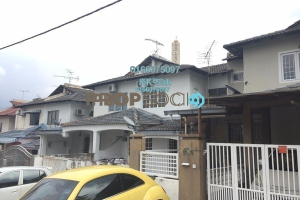For Sale Terrace at Taman Len Sen, Cheras Freehold Semi Furnished 4R/3B 500k