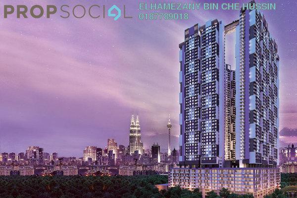For Sale Apartment at SkyAwani 3 Residence, Setapak Freehold Unfurnished 3R/2B 300k
