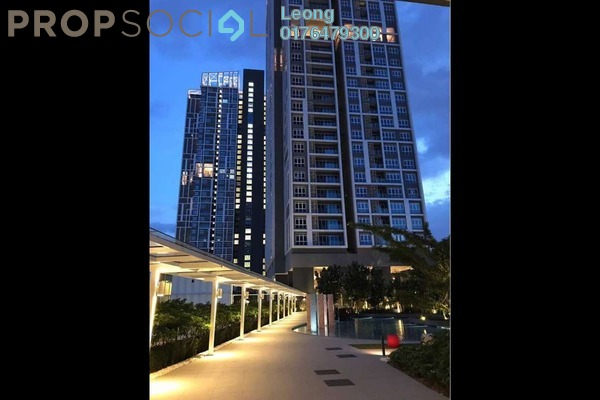 For Rent Condominium at EcoSky, Jalan Ipoh Freehold Unfurnished 3R/2B 2.5k