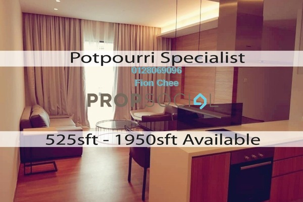 For Rent Serviced Residence at The Potpourri, Ara Damansara Freehold Fully Furnished 2R/2B 2.9k