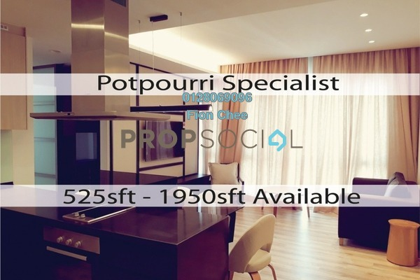 For Rent Serviced Residence at The Potpourri, Ara Damansara Freehold Fully Furnished 2R/2B 2.6k