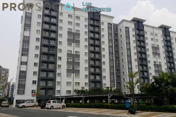 For Sale Apartment at Seri Intan Apartment, Setia Alam Freehold Unfurnished 3R/2B 285k