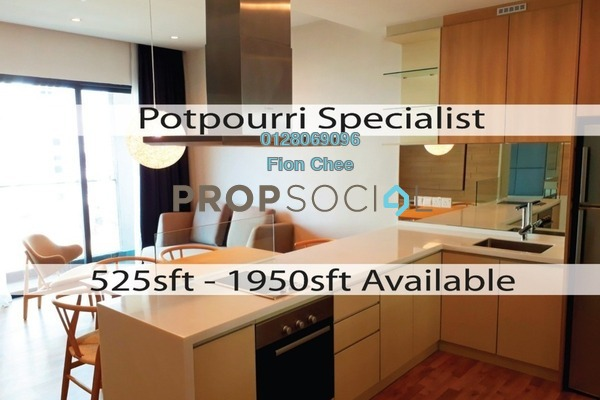 For Rent Serviced Residence at The Potpourri, Ara Damansara Freehold Fully Furnished 1R/1B 2.3k