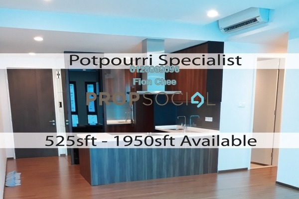 For Rent Serviced Residence at The Potpourri, Ara Damansara Freehold Semi Furnished 3R/2B 3.5k