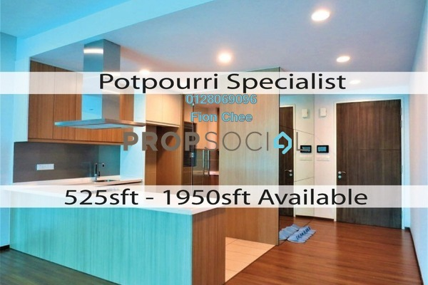 For Rent Serviced Residence at The Potpourri, Ara Damansara Freehold Semi Furnished 3R/3B 4.8k