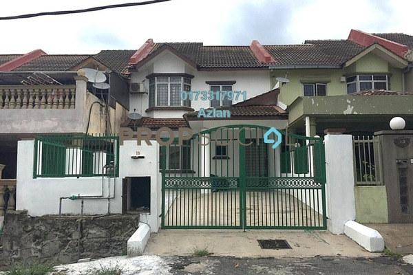 For Rent Terrace at Taman Bukit Angsana, Cheras South Freehold Semi Furnished 3R/3B 2k