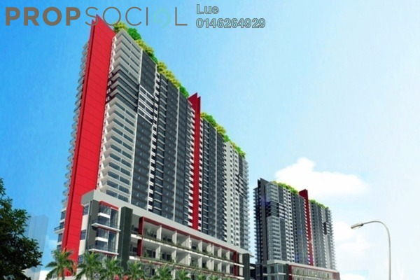 For Sale Serviced Residence at The Zizz, Damansara Damai Freehold Unfurnished 2R/2B 390k