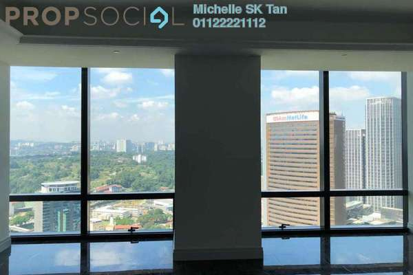 For Rent Serviced Residence at St Regis Residences, KL Sentral Freehold Semi Furnished 2R/3B 13k