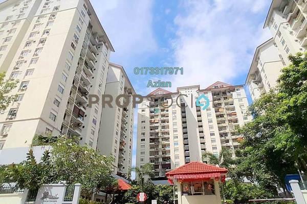For Sale Condominium at Mentari Condominium, Bandar Sri Permaisuri Freehold Unfurnished 3R/2B 398k