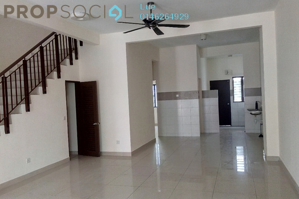 For Sale Terrace at Setia Indah, Setia Alam Freehold Semi Furnished 4R/3B 730k