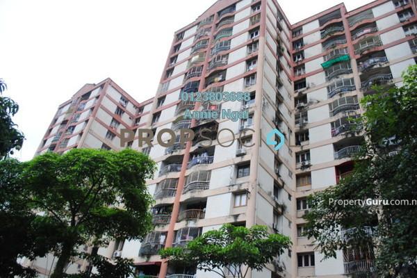 For Sale Condominium at Grandeur Tower, Pandan Indah Freehold Semi Furnished 3R/2B 350k