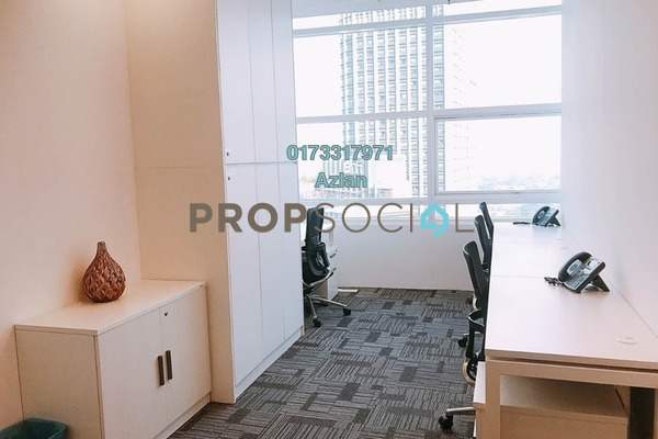 For Rent Office at Menara Axiata, KL Sentral Freehold Semi Furnished 0R/0B 4k