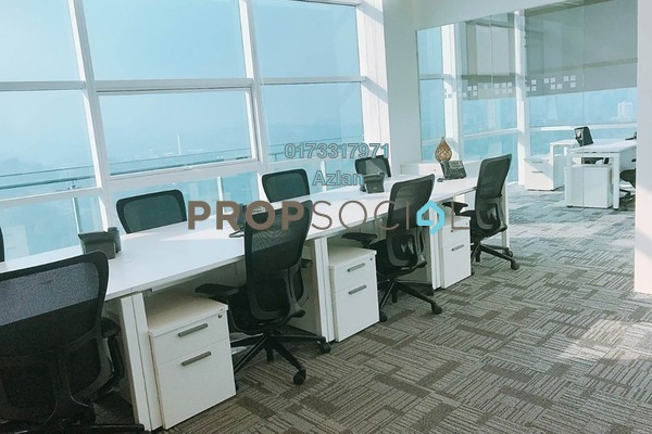 For Rent Office at Menara Axiata, KL Sentral Freehold Semi Furnished 0R/0B 6k