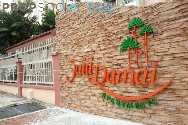 For Sale Apartment at Jalil Damai, Bukit Jalil Freehold Semi Furnished 3R/2B 398k