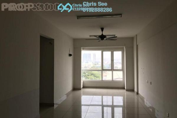 For Sale Condominium at First Residence, Kepong Freehold Semi Furnished 3R/2B 450k