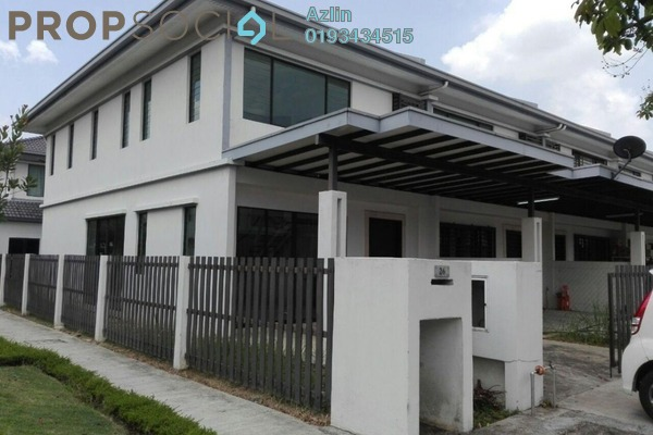 For Sale Terrace at Ken Rimba, Shah Alam Freehold Unfurnished 4R/3B 690k