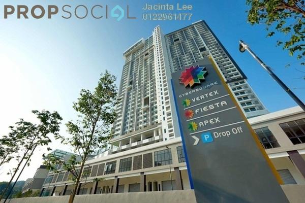 For Sale SoHo/Studio at CyberSquare, Cyberjaya Freehold Semi Furnished 0R/1B 208k