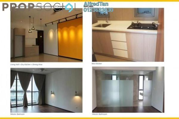 For Rent Condominium at The Fennel, Sentul Freehold Fully Furnished 3R/3B 2.7k