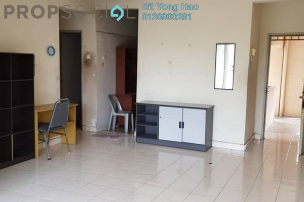 For Rent Apartment at Baiduri Apartment, Shah Alam Freehold Unfurnished 3R/2B 1.1k